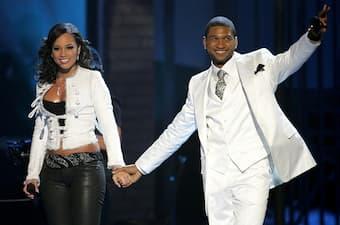 Alicia Keys and Usher