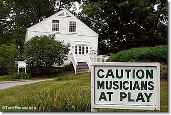 "Chamber music festival ""Music from Marlboro"", Vermont"