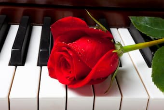 How do classical composers write love letters in music?
