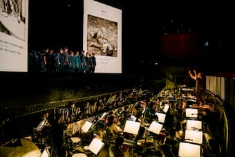 Britten's War Requiem, co-produced with ENO, was presented at Weiwuying on February 28 and March 1, 2020.