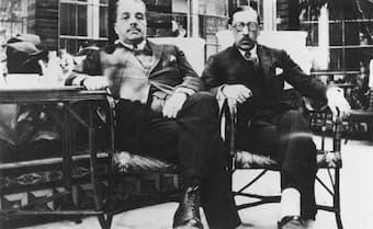 Diaghilev and Stravinsky 1921