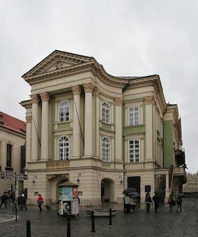 Estates Theatre in Prague where the Prague Symphony was premiered