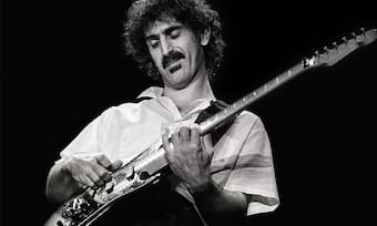 Metal, pop, rock, blues and classical are all within Frank Zappa's scope of work