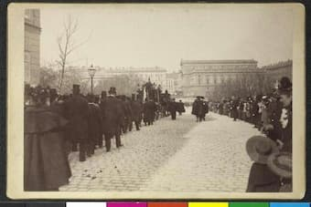 Funeral Procession for Johannes Brahms