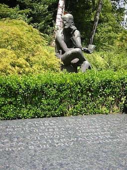 James Joyce's grave in Zurich