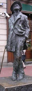 James Joyce Statue in Dublin