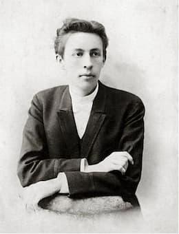 Sergei Rachmaninoff as a student