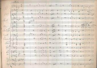 Schubert's Symphony No. 8 in B minor