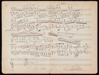 Thalberg's Fantaisie on Lucrezia Borgia Op. 50