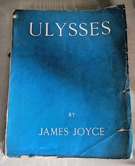 Ulysses by James Joyce, first edition in 1922