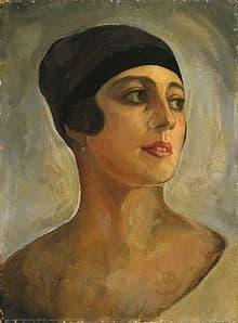 Portrait of Vera Stravinsky by Serge Sudeikin