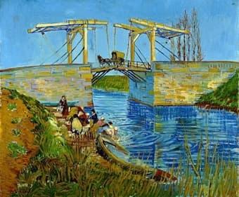 Van Gogh: The Langlois Bridge at Arles (Kröller-Müller Museum)