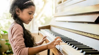 Music lessons encourage self-reliance and organisation, even for young children who are supported by their parents.