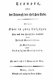 The 1806 Libretto