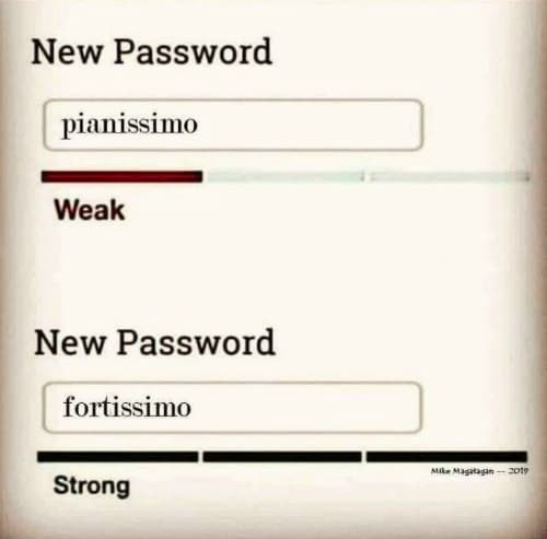 A Strong Password Is Paramount!