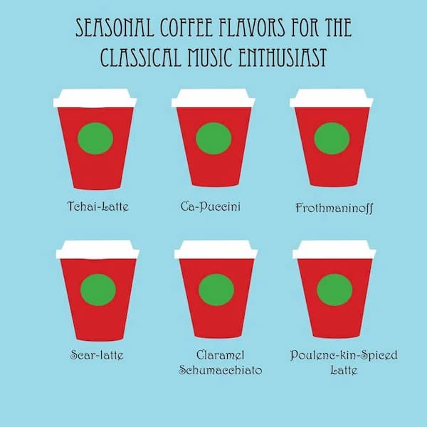 Seasonal Coffee Flavors for You!