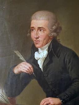 Franz Joseph Haydn by Ludwig Guttenbrunn, 1770