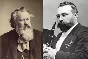 Johannes Brahms and Richard Mühlfeld