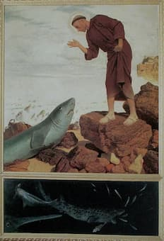 Arnold Böcklin: Saint Anthony Preaching to the Fish