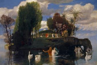 Arnold Böcklin: The island of life