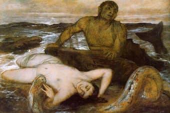 Arnold Böcklin: Triton and Nereid