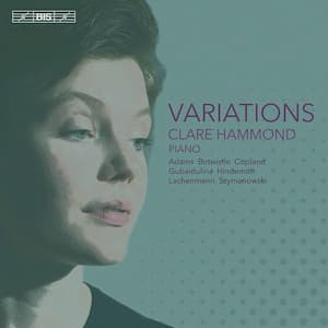 Variations – Clare Hammond, Piano