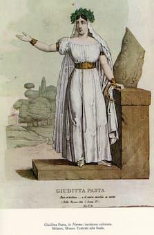 Giuditta Pasta as Norma, 1831