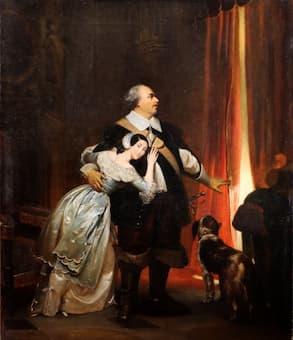 Giulia Grisi and Luigi Lablache in Bellini's I puritani