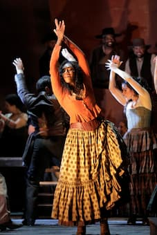 "Title role in ""Carmen"" with the San Francisco Opera"