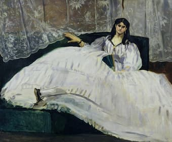 Jeanne Duval by Edouard Manet, 1862