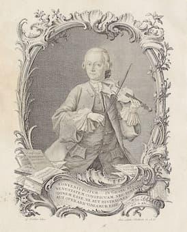 Leopold Mozart, 1756
