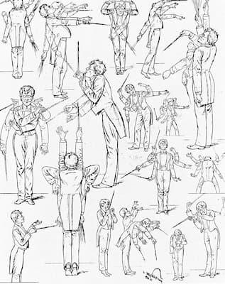 Schließmann: Mahler's conducting style (1901) (Fliegende Blätter)