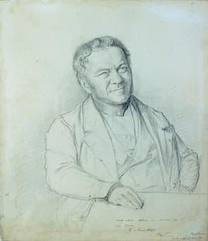 Stendhal by Henri Lehmann 1841