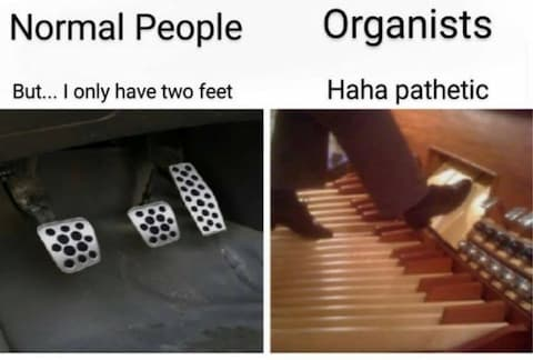 But… I Only Have Two Feet