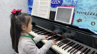 Virtual classes help piano players hit the right notes