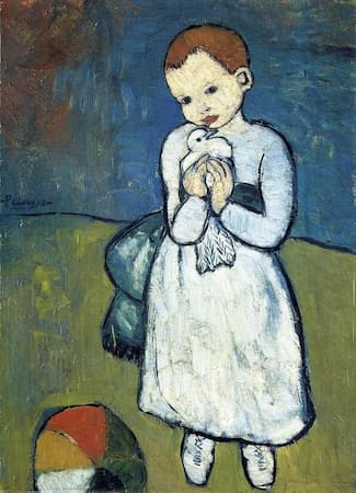 Picasso: Boy with a Dove