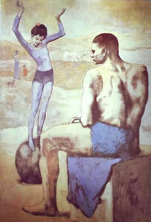Picasso: Young Acrobat on a Ball