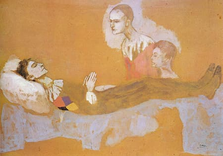 Picasso: La Mort d'Arlequin