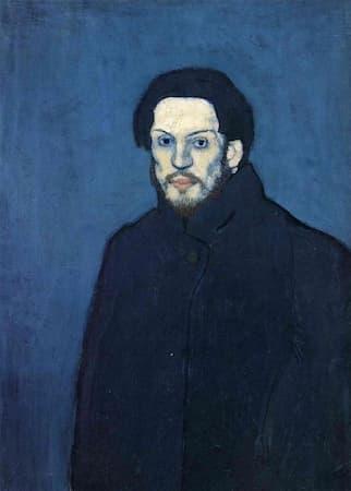 Picasso: Self-Portrait, age 20 (1901)