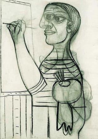 Picasso: Self-Portrait, Age 56 (1938)