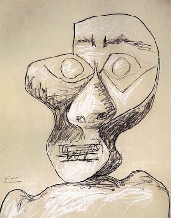 Picasso: Self-Portrait, Age 90 (1972)