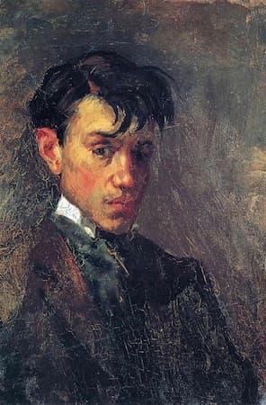 Picasso: Self-Portrait, age 15 (1896)