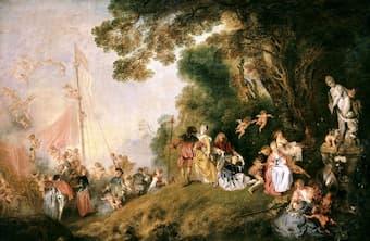 Antoine Watteau: L'Embarquement pour Cythère
