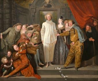 Antoine Watteau: The Italian Comedians
