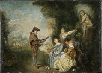 Antoine Watteau: The Love Lesson