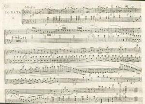 Beethoven's Piano Sonata Op. 2 No. 1 First edition