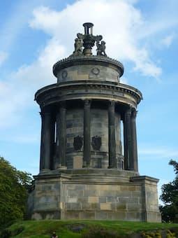 The Burns Monument, Calton Hill, Edinburgh