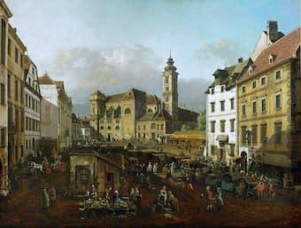 Schottenkirche (Scots Church) in Vienna, 1758