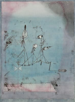 Paul Klee: Twitter Machine (1922) (New York: Museum of Modern Art)