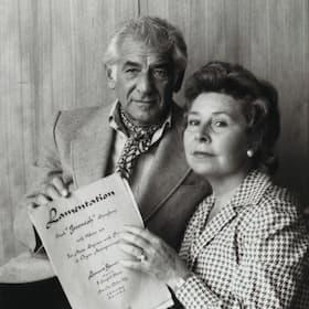 Christa Ludwig with Leonard Bernstein